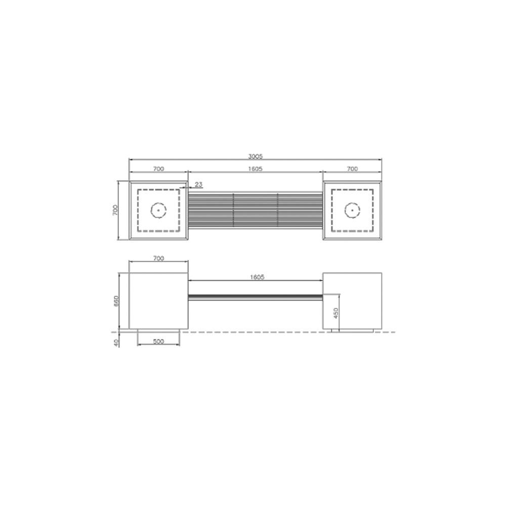 PANCHINA-acciaio–CON-FIORIERA2